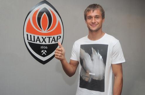 Каниболоцкий подписал контракт с Шахтером