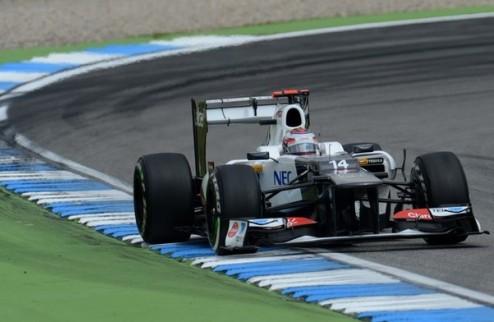 Формула-1. Заубер нацелен попасть в пятерку лучших