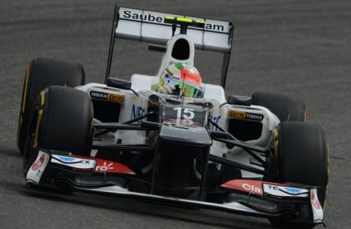 Формула-1. Перес не давит на Феррари