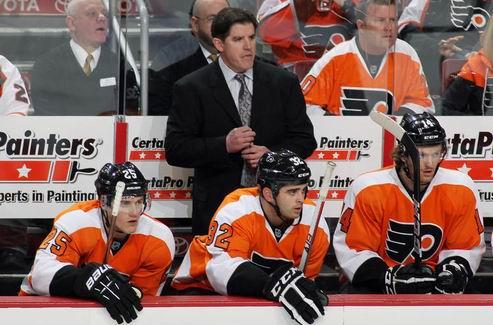 НХЛ. Филадельфия готова продолжать сотрудничество с тренером