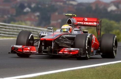 Формула-1. Гран-при Венгрии. Хэмилтон — быстрейший во второй практике