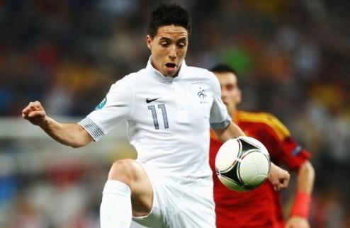 Насри и Менез наказаны за демарш на Евро-2012