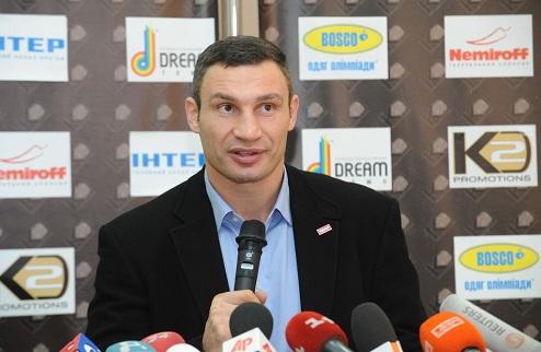 """Кличко: """"Шевченко мне звонил и предложил встретиться"""""""
