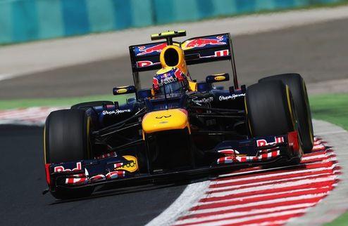 Формула-1. Гран-при Венгрии. Уэббер выигрывает третью практику