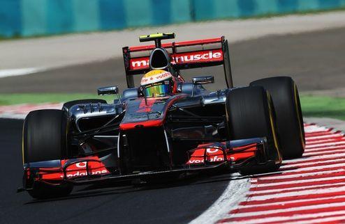 Формула-1. Гран-при Венгрии. Поул Хэмилтона, первый ряд Грожана, неудача Уэббера