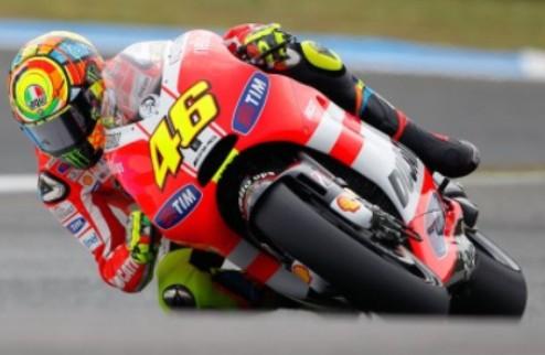MotoGP. Валентино Росси не собирается покидать Дукати
