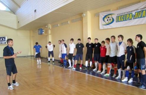 Футзал. ЛТК берет курс на товарищеский турнир во Львове