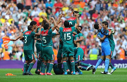 Мексика забирает футбольное золото Олимпиады!