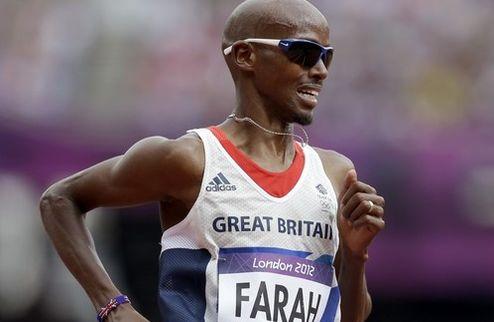 Фара — двукратный олимпийский чемпион