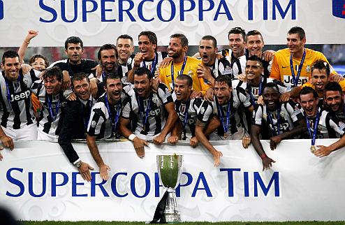 Ювентус выиграл Суперкубок Италии +ВИДЕО
