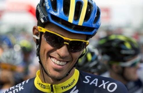 """Велоспорт. Контадор: """"Я в хорошей форме"""""""