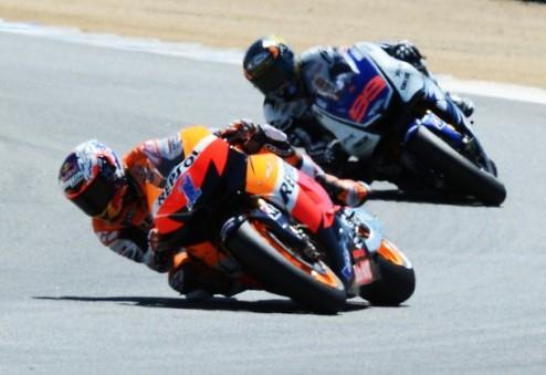 MotoGP. Гран-при Индианаполиса. Стоунер выигрывает первую практику