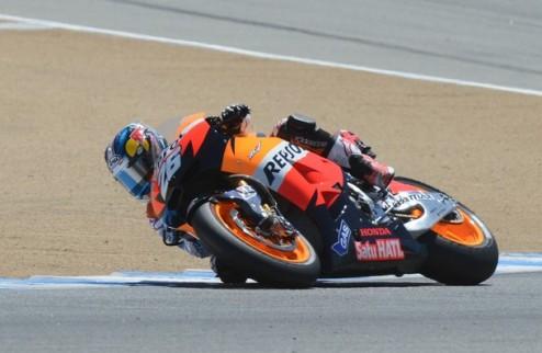 MotoGP. Гран-при Индианаполиса. Педроса выигрывает вторую практику