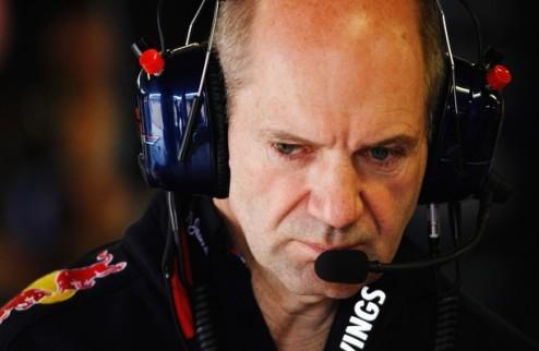 """Формула-1. Ньюи: """"Запрет ФИА на выдувной диффузор нас затормозил"""""""