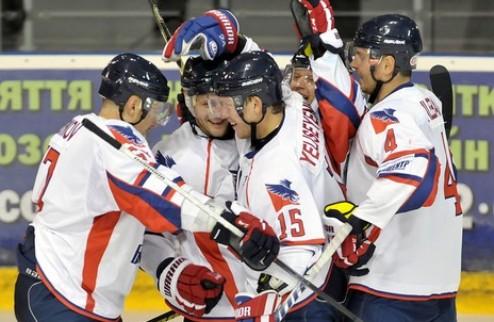 ПХЛ. Беркут одерживает третью победу в Словакии