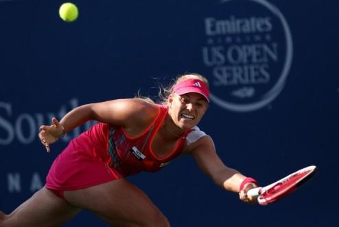 Цинциннати (WTA). В финале сыграют Кербер и На Ли