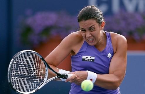 Нью-Хейвен (WTA). Легкие победы Бартоли, Стивенс и Шафаржовой