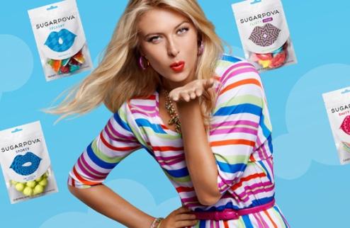 Шарапова выпустила конфеты Sugarpova + ВИДЕО