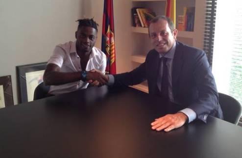 Официально: Сонг — игрок Барселоны