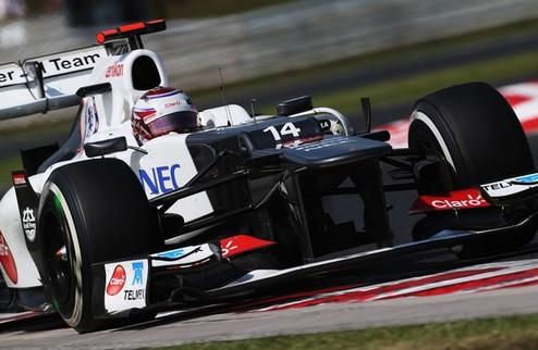 Формула-1. Заубер не жалуется на неудачи