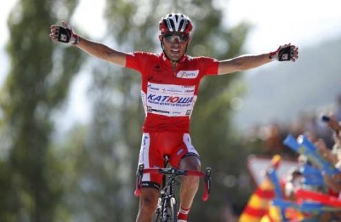 Вуэльта. Родригес укрепляет лидерство