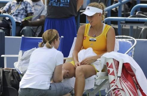 Нью-Хейвен (WTA). Кириленко в финале из-за отказа Возняцки