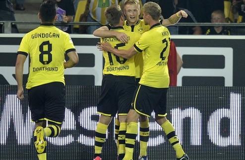 Дортмунд: тяжелая победа на старте + ВИДЕО