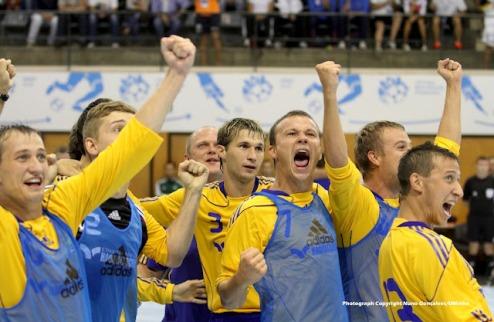 Футзал. Украина выигрывает студенческий чемпионат мира