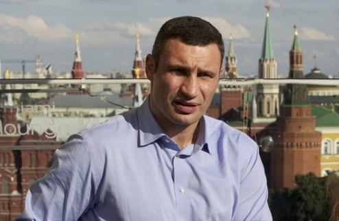 Виталий Кличко не будет драться с Холифилдом ни за какие деньги