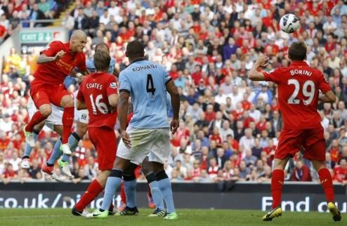 Ливерпуль упускает победу над Манчестер Сити + ВИДЕО