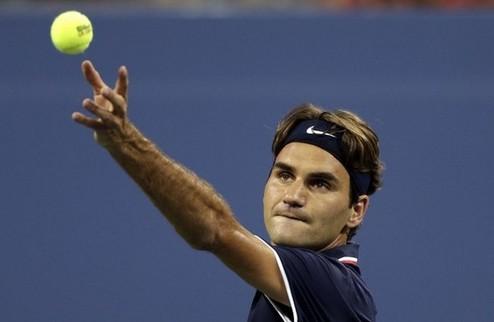 US Open (ATP). Федерер уверенно переиграл Янга