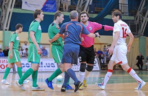 Футзал. Матч за Суперкубок Украины отменен