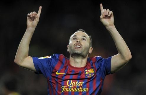 Иньеста — лучший игрок Европы по версии УЕФА