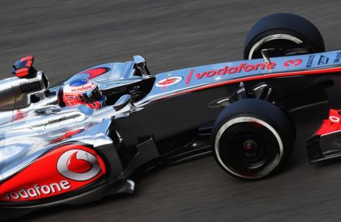 Формула-1. Гран-при Бельгии. Поул Баттона, первый ряд Кобаяси, провал Феттеля