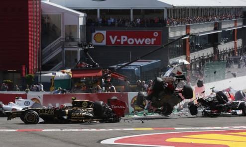 Формула-1. Грожан оштрафован на деньги и одну гонку