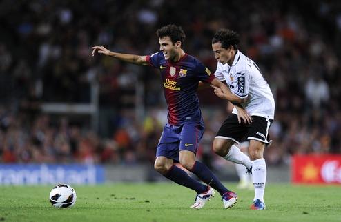 Барселона минимально одолела Валенсию + ВИДЕО
