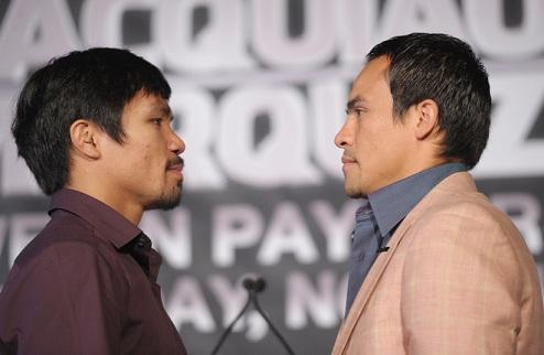 Маркес и Паккьяо близки к соглашению на четвертый бой