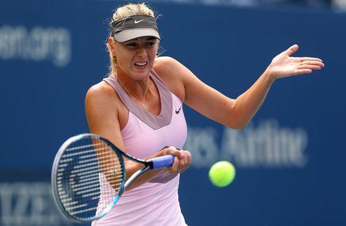 US Open. Шарапова одолела Бартоли в дождевом триллере