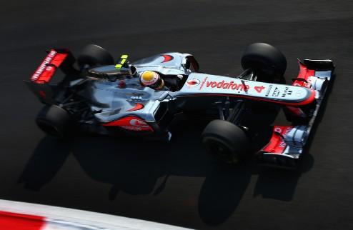 Формула-1. Гран-при Италии. Хэмилтон — быстрейший во второй практике