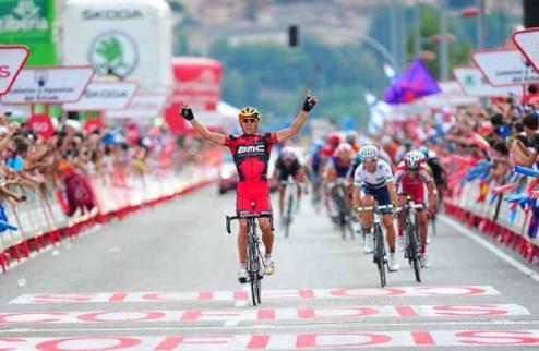 Вуэльта. Вторая победа Жильбера в Испании