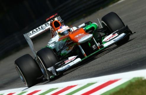 Формула-1. Ди Реста лишен пяти позиций на старте Гран-при Италии