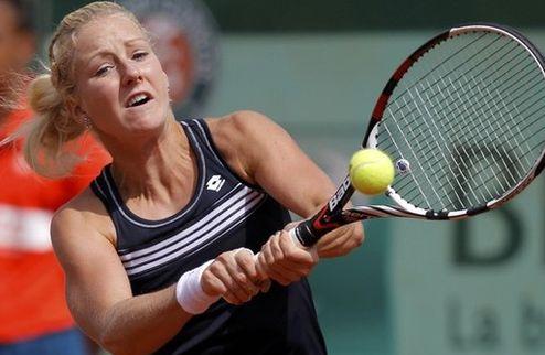 Ташкент (WTA). Урсула Радваньска и Корне вышли во второй круг