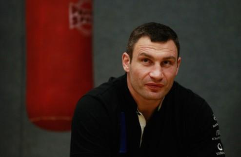 У Виталия Кличко нет времени на Хэя