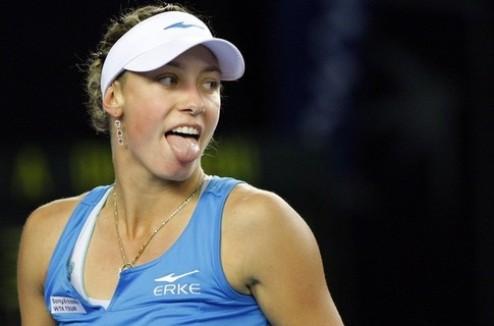 Квебек (WTA). Возняк одолела Веснину