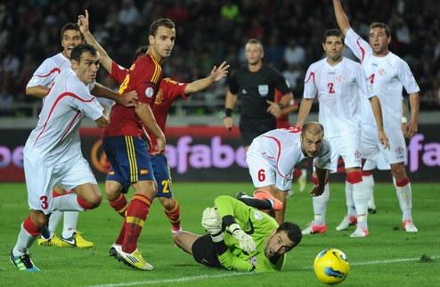 Испания вырвала победу над Грузией + ВИДЕО