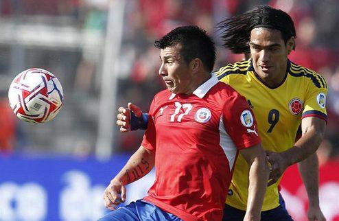 Отбор ЧМ-2014. Колумбия сильнее Чили, Аргентина оступается + ВИДЕО