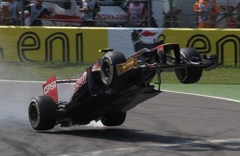 Формула-1. Известны причины аварии Верня в Италии