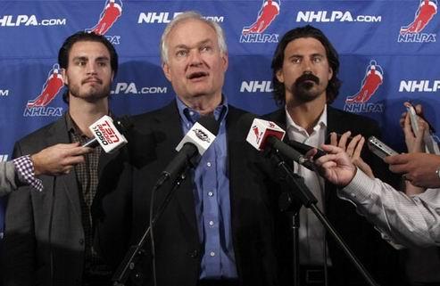 НХЛ. Профсоюз: локаут — это решение Лиги
