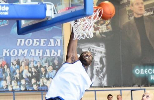 БК Одесса побеждает в Латвии