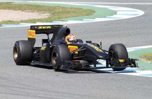 Формула-1. Тест Пирелли в Барселоне завершился неудачей